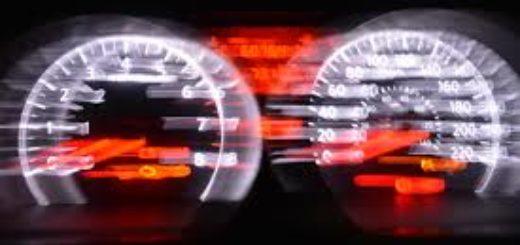 Определение скорости авто