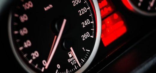 Установить скорость движения ТС