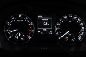 Определение скорости движения автомобиля