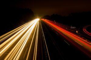 Определение скорости встречного автомобиля
