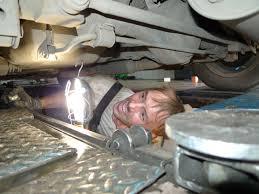 Осмотр аварийного автомобиля
